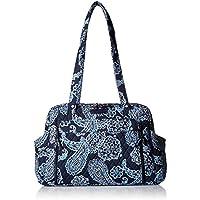 Vera Bradley Stroll Around Baby Shoulder Bag, Blue Bandana, One Size