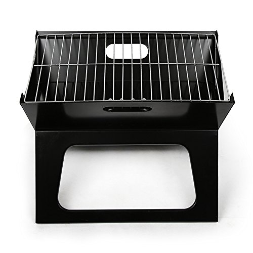 Hibachi Charcoal Grills - Azadx Charcoal Grill, Portable Mini Hibachi grills for Kitchen Backyard Outdoor Cooking BBQ Barbecue Tool Sets Black