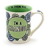 "Our Name is Mud ""I'm a Grandpa"" Stoneware Gift Mug, 16 oz."