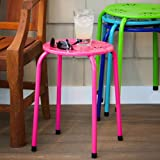 Metal Stacking Stool Plant Holder Set of 4 Review