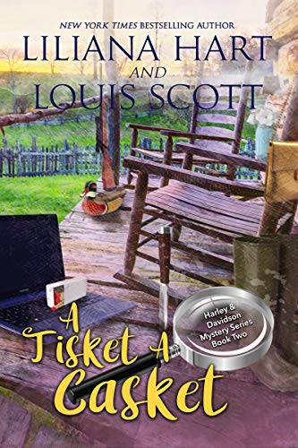 A Tisket A Casket (A Harley and Davidson Mystery Book 2)