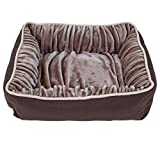 Petmate Dig and Burrow Nuzzle Ortho Bed, 24 by 20-Inch For Sale