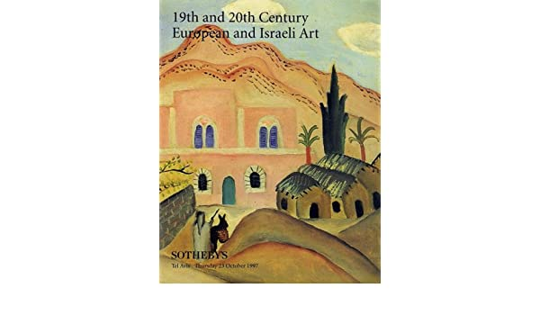 19th and 20th Century European and Israeli Art [Sothebys Tel Aviv, 23 Oct. 1997, Sale #TA0002]: Sothebys: Amazon.com: Books