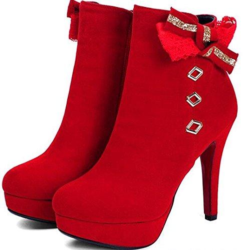 Low Laruise Damen Sneaker Rot Tops En17wX