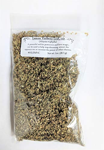 (Lemon Verbena Leaf cut 1oz)