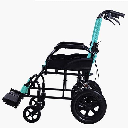 Hogar Portátil Plegable Manual Ancianos Discapacitados Silla ...