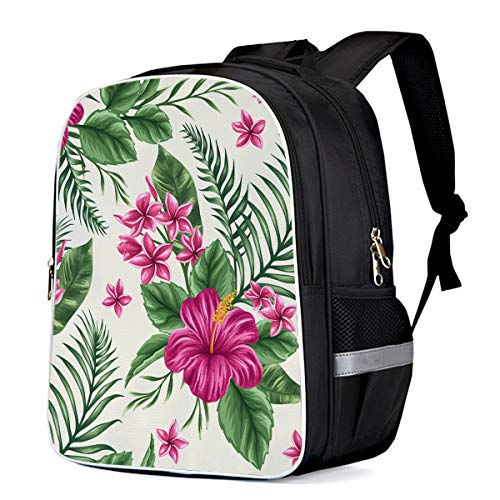 Fashion Elementary Student School Bags- Exotica Flower Bouquet, Durable School Backpacks Outdoor Daypack Travel Packback for Kids Boys Girls ()
