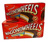 The Original Wagon Wheels - Chocolate Covered Marshmallow - Best Reviews Guide