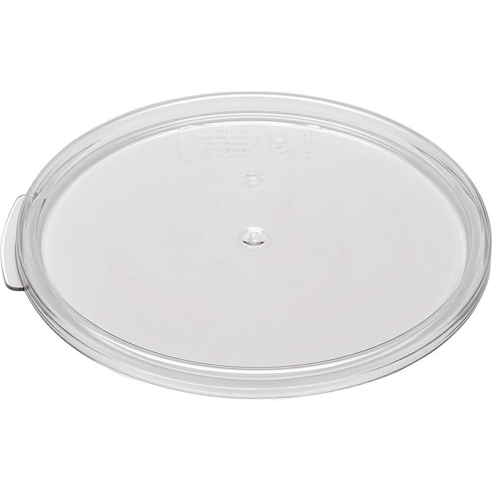Cambro RFSCWC6135 Camwear Cover for 6 & 8 qt. round storage container clear -