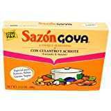 Goya Foods Sazon Culantro y Achiote Economy Pack, 3.52-Ounce