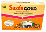 Goya Foods Sazon Culantro y Achiote Economy Pack, 3.52-Ounce