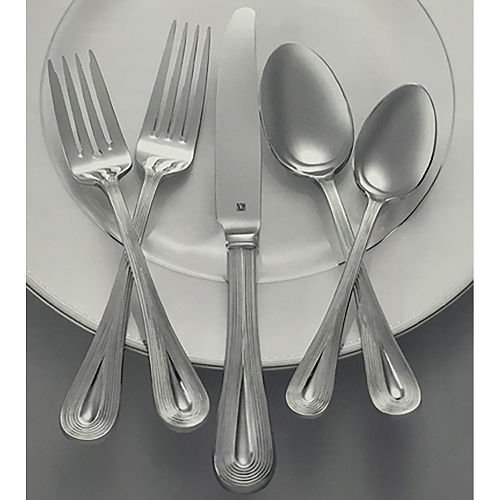 Vera Wang Lariat Nouveau 5 Piece Stainless Steel Place Setting