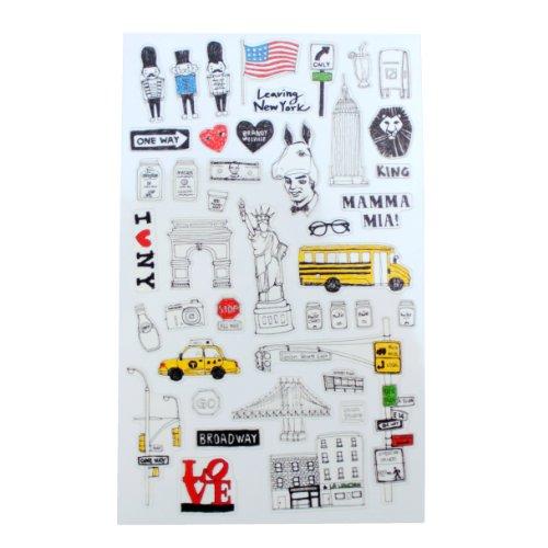 Rayher Stickers New York - vintage