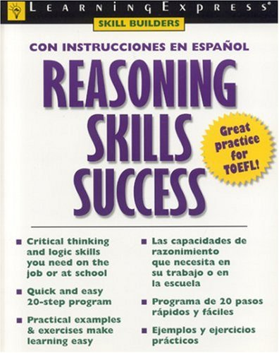 Reasoning Skills Sucess-Spanish Edition