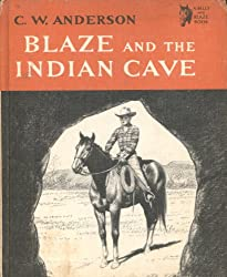 Blaze and the Indian Cave, (Billy Blaze Book Series), Weekly Reader