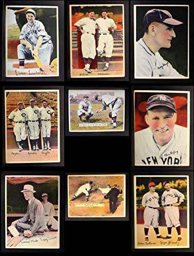 (Pastel Photos (R312) 1936 Pastel Photos Partial Complete Set (Baseball Set) Dean's Cards 3.5 - VG+)