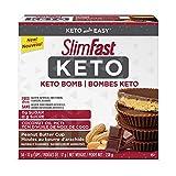 SlimFast Keto Bomb Snacks, 14x17g Choclate Peanut Butter Cups Per Box, 238 Grams