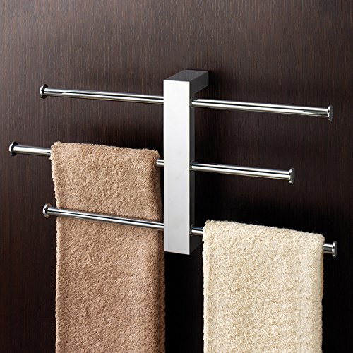 Nameeks 7630-13 15.98-Inch Bridge Rack Towel Bar, Chrome by Nameeks