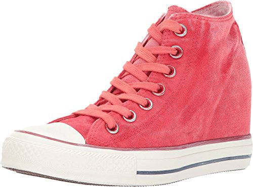 Galleon - Converse Women s Chuck Taylor Lux Mid Casual Shoe   Carnival Pink    Size 8.5 35420ccf7