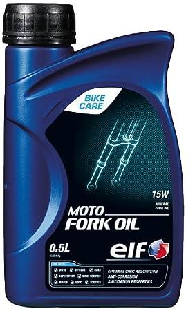 Aceite de horquilla Elf moto Fork Oil 15 W - Botella de 500 ...