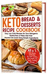 ★Are you getting serious about Losing Weight?★                       ★ Are you following a Keto Diet and is it Hard for you to Give Up with Carbs?★★Would you give anything for the taste of bread or a luxurious sweet treat?★   ...