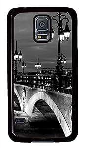 Urban Landscape PC Black Hard Case Cover Skin For Samsung Galaxy S5 I9600 by icecream design