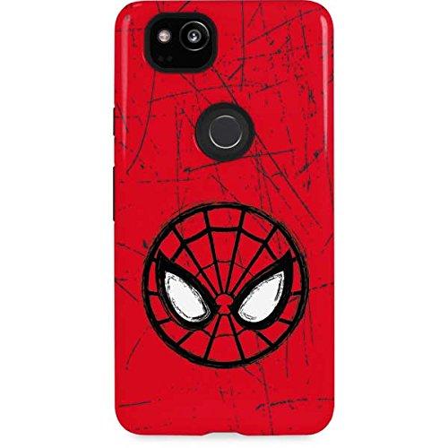 amazon com spider man google pixel 2 case spider man face