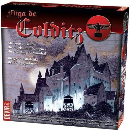 Devir (BGCOLDITZ Fuga de Colditz, Juego de Mesa, Multicolor, Talla Unica: Amazon.es: Juguetes y juegos