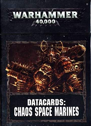 Datacards - Chaos Space Marines SW Games Workshop 60220102004