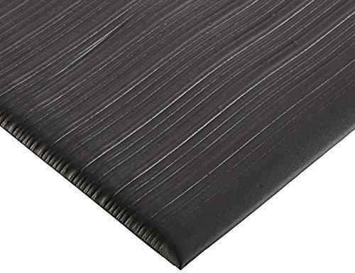 Bertech Anti Fatigue Vinyl Foam Floor Mat, 3' Wide x 5' Long x 3/8