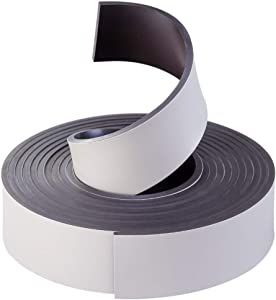 Coredy Boundary Strip, Magnetic Boundary Maker Strip Tape, Compatible with R550(R500+),R650,R600,R750,R700 Robot Vacuum Cleaner, 2m/6.6ft, Black