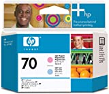 HP 70 Lt Cyan and Lt Magenta Printhead for Use In Select Photosmart Professional, Office Central