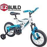 *Huffy 12″ DS 1200 Boys' EZ Build Metaloid Bike, Blue