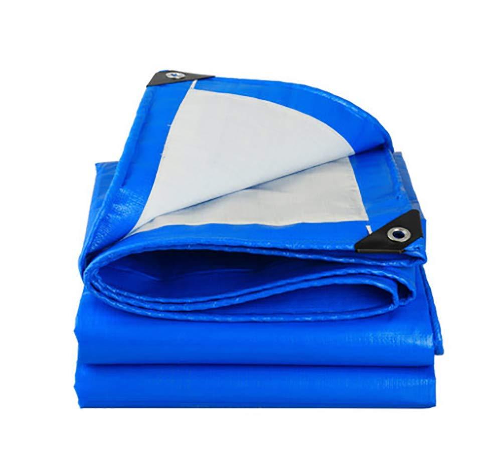 46m  Liliya& Différentes Tailles de bÂche extérieure Bleue et Blanche, bÂche, bÂche Anti-Pluie, bÂche de Camion