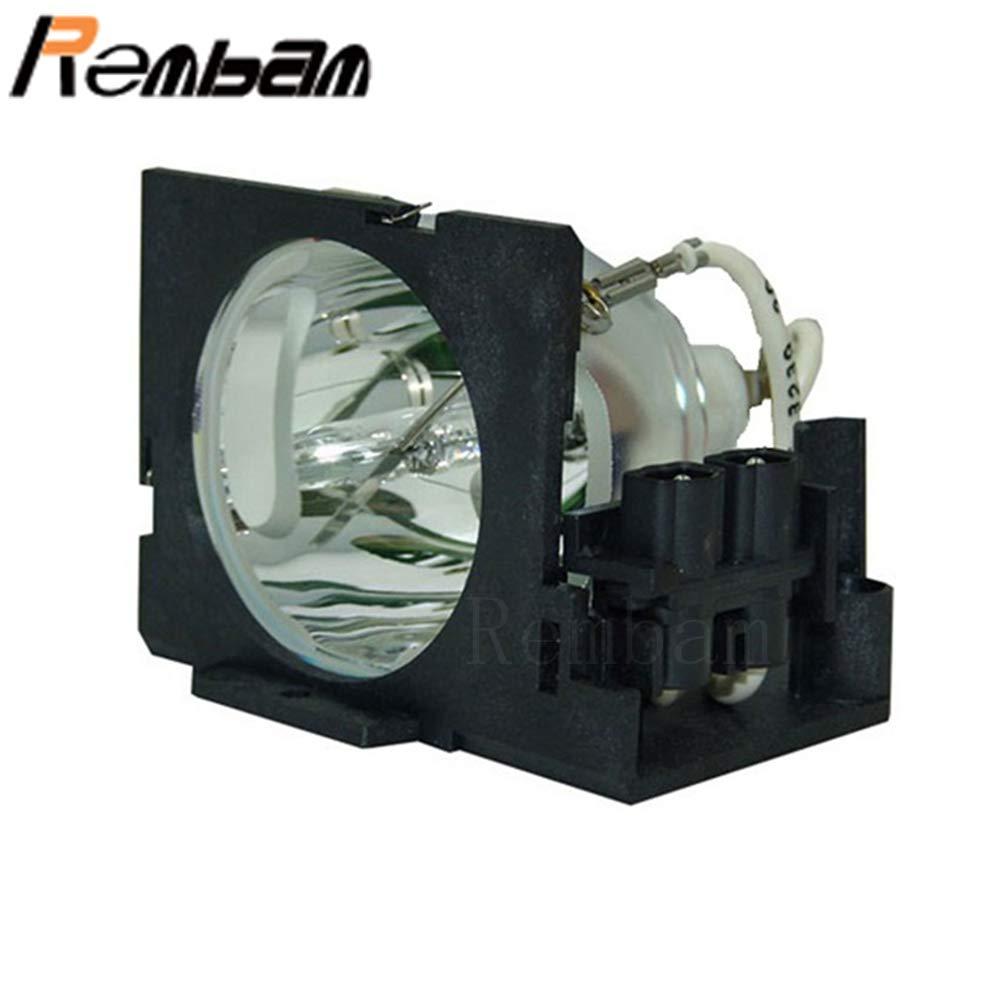 Rembam 60.J1720.001/60.J3207.CB1 オリジナルバルブプロジェクターランプ ハウジング付き Benq 7763P 7763PE 7765P 7765PE用 OEM電球 B07PJ7BSQL