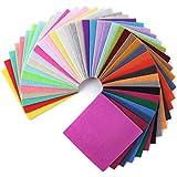 Mr. Pen- Felt, Felt Sheets, 40 Pack, 4 x 4 Inch, Assorted Colors, Felt Sheets for Crafts, Felt Fabric, Felt for Sewing, Fleece Fabric, Craft Felt, Felt Squares, Felt for Crafts, Craft Felt, Felt Paper