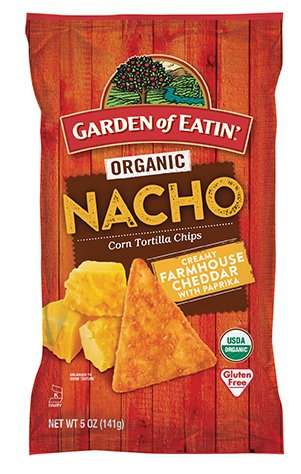 anic Nacho Corn Tortilla Chips 5 oz. (Pack of 2) ()