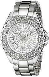 XOXO Women's XO5743 Analog Display Analog Quartz Silver Watch