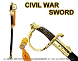 Swordmaster - 35'' Military Cavalry Sword CSA Confederate Civil War Saber Brand New