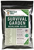 Search : 15,000 Non GMO Heirloom Vegetable Seeds Survival Garden 32 Variety Pack by Open Seed Vault