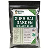 Survival Garden Seeds: Don't Just Survive...Thrive WHY OPEN SEED VAULT'S SEEDS ARE SUPERIOR -We provide full planting and seed harvesting instructions for each vegetable so you can continue to grow year after year. -Beware of cheap imitations. Our Va...
