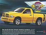 2003 Dodge Rumble Bee Pickup Truck Brochure