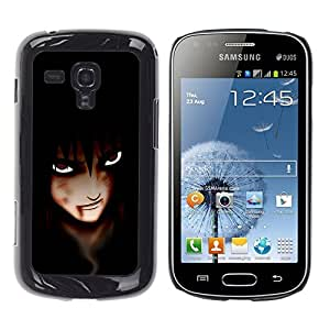 Impact Case Cover with Art Pattern Designs FOR Samsung Galaxy S Duos S7562 Anime Vampire Eyes Betty shop