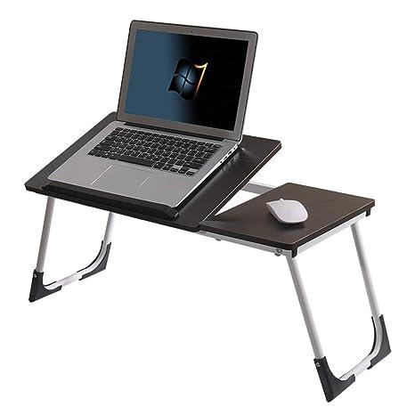 NYDZ Mesa plegable para computadora portátil, soporte para escritorio portátil Cama para uso en la