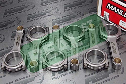 Manley 14027-6 H-Beam Connecting Rod Set - Billet 4340 H-beam Rods Shopping Results