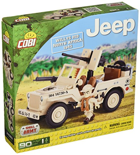 (COBI Jeep Willys MB North Africa 1943 Set)