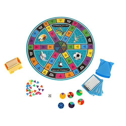 51hEQy1f9iL - Hasbro Trivial Pursuit Family Edition Game, Game Night, Ages 8 and up