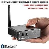 Nobsound Mini Wireless Digital Bluetooth Receiver Optical TOSLINK Audio Decoder DAC 96KHz