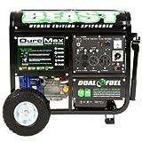 Duromax XP12000EH 12000 Watt Dual Fuel Generator W Elec. Start...