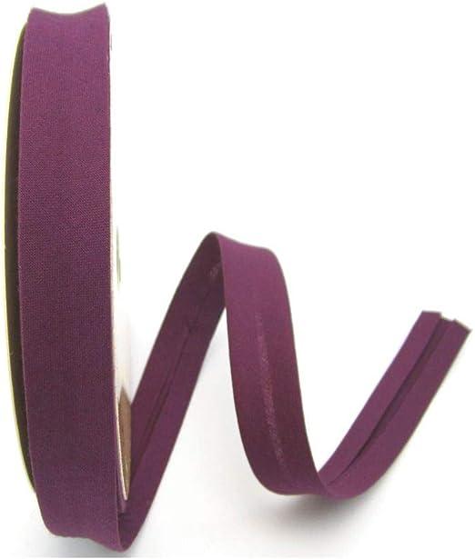 1meter nähen Baumwolle 18mm Schrägband hellrosa Kantenband Meterware
